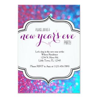 Nyårsaftonparty 8,9 X 12,7 Cm Inbjudningskort