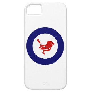 Nyazeeländsk fågel för Tomtit roundel | iPhone 5 Fodraler