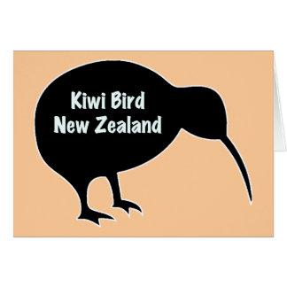 Nyazeeländsk Kiwifågel - Hälsningskort