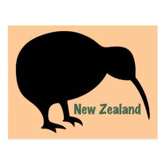 Nyazeeländsk Kiwifågel - Vykort