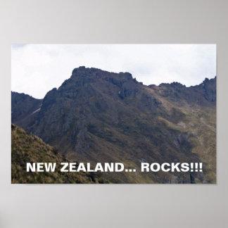 Nyazeeländsk Sten-Affisch Poster