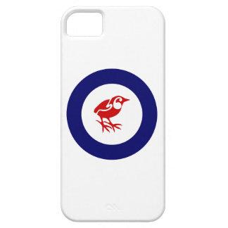 Nyazeeländsk stengärdsmyg Roundel iPhone 5 Fodraler