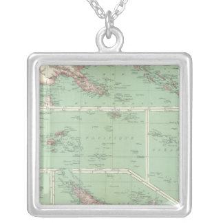 Nyazeeländska 6 silverpläterat halsband