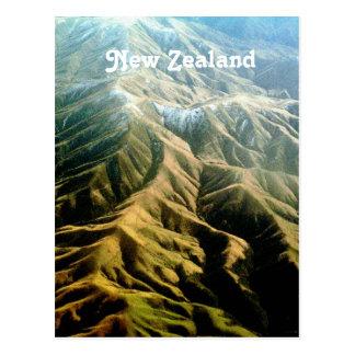 Nyazeeländska berg vykort