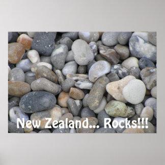 Nyazeeländska… stenar! poster