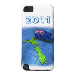 Nyazeeländskt med dess egna flagga i 2011 iPod touch 5G fodral