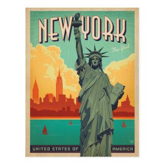 NYC - Damfrihet Vykort