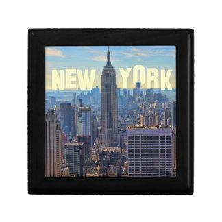 NYC-horisontempire state som bygger, världshandel Minnesask