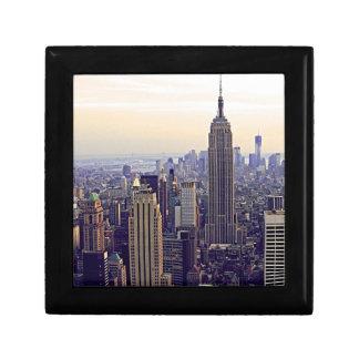 NYC-horisontempire state som bygger, WTC 4 Smyckeskrin