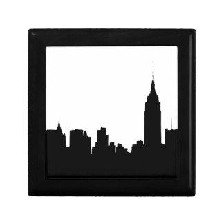 NYC-horisontSilhouette, empire state Bldg #1 Smyckeskrin