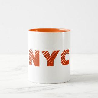 NYC-mugg Två-Tonad Mugg