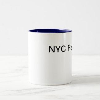 NYC retuscherar Två-Tonad Mugg