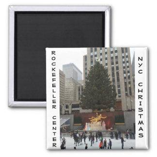 NYC Rockefeller centrerar Magnet
