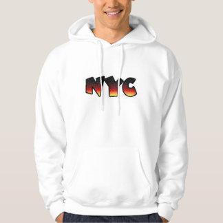 NYC-svettskjorta Sweatshirt Med Luva