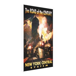 NYC-väg av århundradet Canvastryck