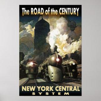 NYC-väg av århundradet Poster