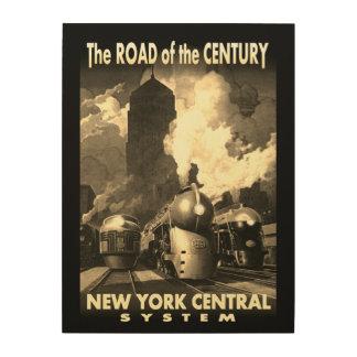 NYC-väg av århundradet Trätavla