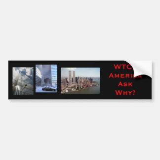 nyc wtc7, wtc77, WTC7AmericaAsk därför? Bildekal