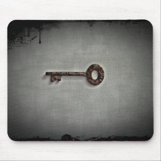 Nyckel- foto för antikvitet musmatta