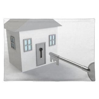 Nyckelhem, fastighetsmäklare som säljer bordstablett