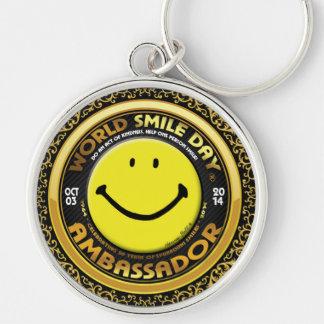 Nyckelring 2014 för världsleendeDay® ambassadör