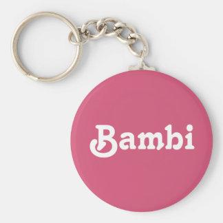 Nyckelring Bambi
