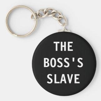Nyckelring chefen; slav- s
