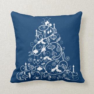 Nyckfull julgranhelgdagdekorativ kudde