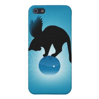 Nyckfull kattiphone case iPhone 5 fodral