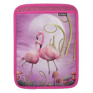 Nyckfull rosa Flamingosipad sleeve Sleeves För iPads