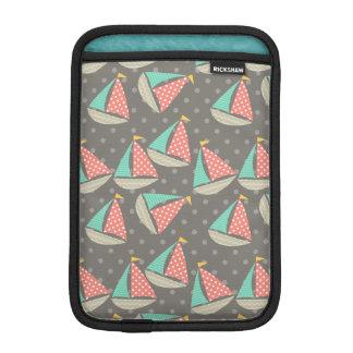 Nyckfull segelbåtRickshawsleeve Sleeve För iPad Mini
