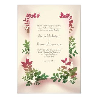 Nyckfullt kort för nedgångbröllopinbjudan 12,7 x 17,8 cm inbjudningskort