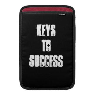 Nycklar till framgång Macbook täcker! Sleeves För MacBook Air