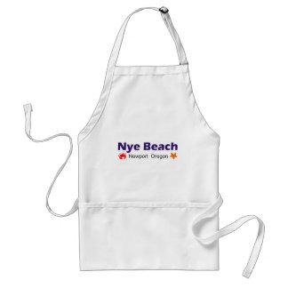 Nye strand Newport Oregon Förkläde