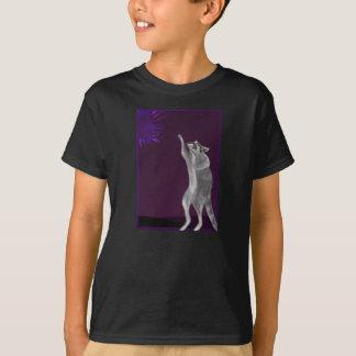 Nyfikna Raccoonräckvidder för Supernova T-shirts