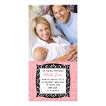 Nyfödd bebiskort skräddarsydda fotokort