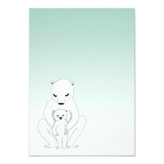 Nyfödd bebismeddelande/baby shower inbjudningar