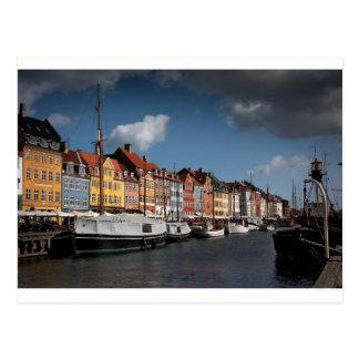 Nyhavn Köpenhamn Vykort