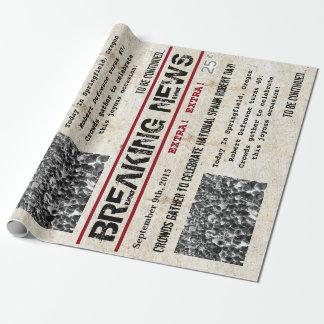 Nyheterna för personligfödelsedagrubrik presentpapper