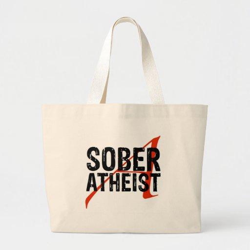 Nykter ateist tygkassar