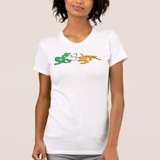 Nykter skjorta för irländare tshirts
