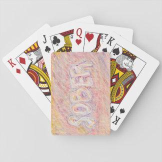 """""""Nyktra till"""" fria leka kort för böjelse Casinokort"""