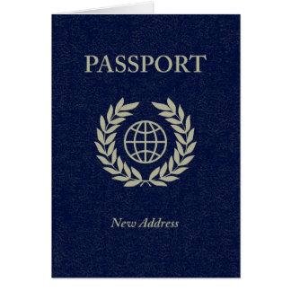 nytt adress pass OBS kort