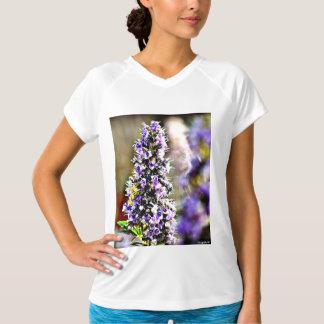 Nytt balansera kvinna utslagsplatsen för blomman tröjor