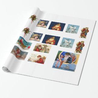 NYTT! Den traditionella julsjalen för hantverk Presentpapper