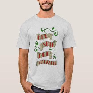 Nytt flå konst & dräktlogotypen tshirts