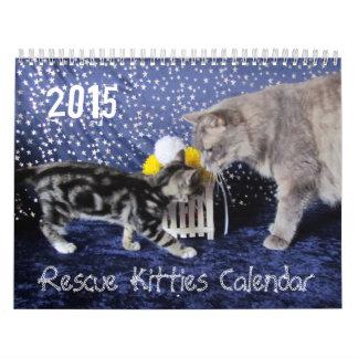 ** - NYTT för 2015! ** Kattungekalender för 2015 Kalender