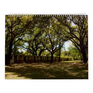 Nytt för kalendern 2017 för vägg för Pawleys ö den Kalender