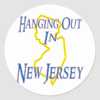 Nytt - jersey - hänga ut runt klistermärke