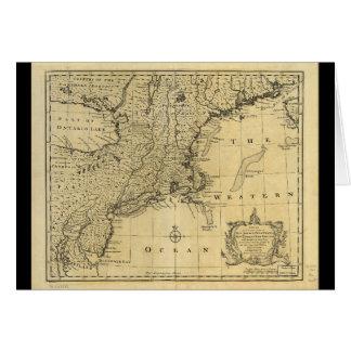 Nytt - jersey Pennsylvania New York New England Hälsningskort